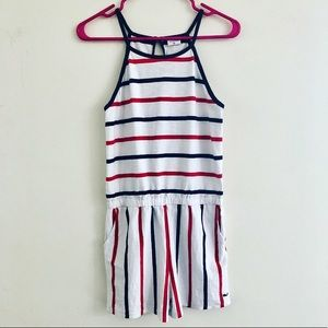 Vineyard Vines Striped Romper Small
